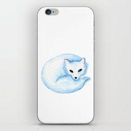 Winter Animals Print iPhone Skin