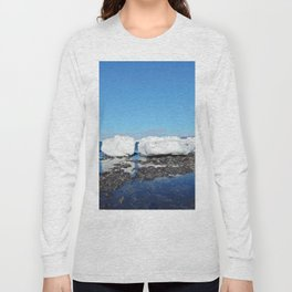 Icebergs Beached by the tides Long Sleeve T-shirt