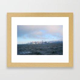 SF from the Bay Framed Art Print