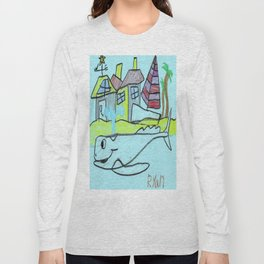White Whale Village Long Sleeve T-shirt