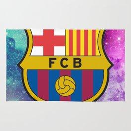 Barcelona FC Galaxy Rug