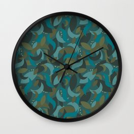 Camo Night Wall Clock