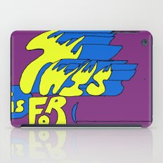 This is for (blank). iPad Case