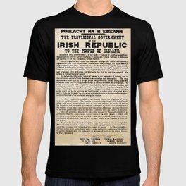 Irish Proclamation of Independence T-shirt
