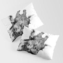 Black and white giraffe Pillow Sham