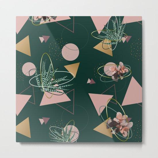 Succulents Atoms #society6 #decor #buyart Metal Print