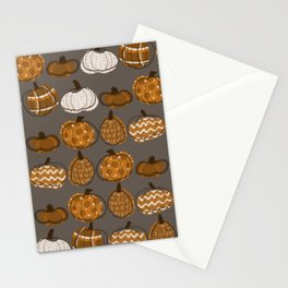 Pumpkin Party in Nougat Stationery Cards