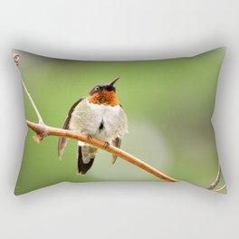 Hummingbird XVII Rectangular Pillow