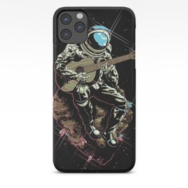 Space Guitar Player iPhone Case