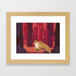 Forest Love Framed Art Print