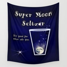Super Moon Seltzer  Wall Tapestry