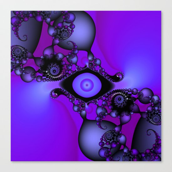 The Eye of Epoch Canvas Print