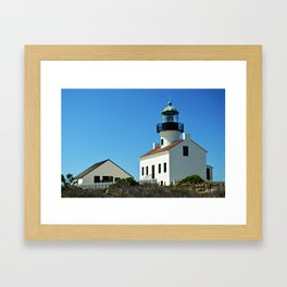 Cabrillo Lighthouse  Framed Art Print