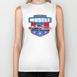 American Muscle Car Biker Tank