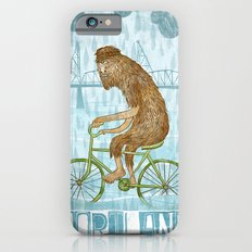 Dirty Wet Bigfoot Hipster iPhone 6s Slim Case