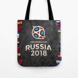 Russia 2018 Tote Bag