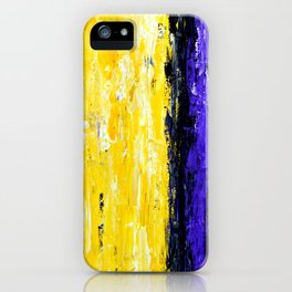 Color Combo #4 iPhone Case