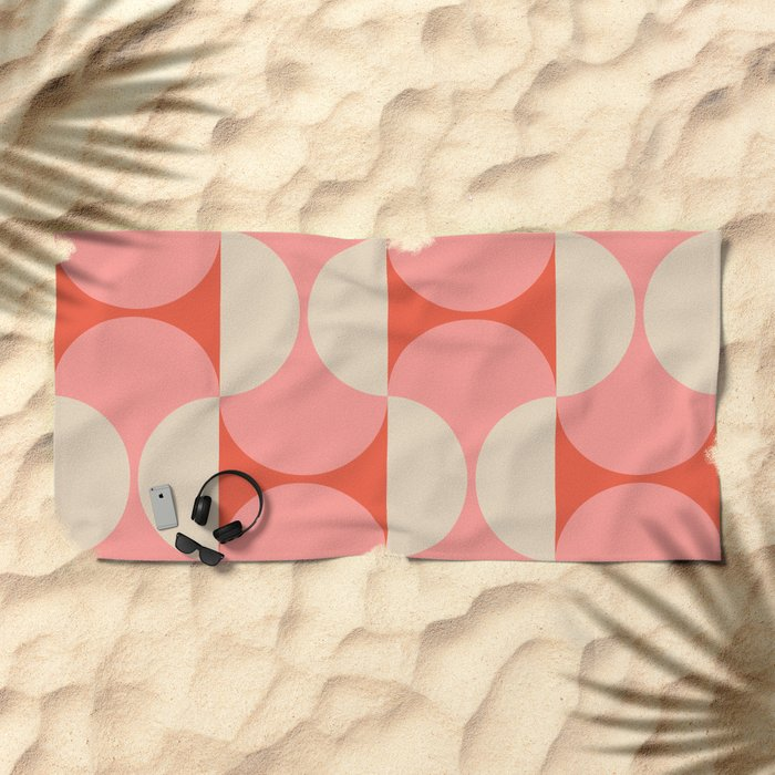Capsule Modern Beach Towel