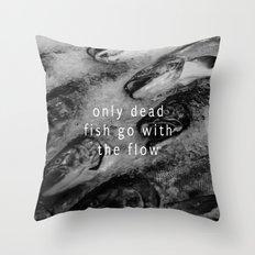 The Flow Throw Pillow
