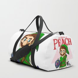 the legend of Peach Duffle Bag