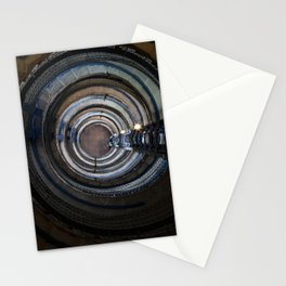Spiral stairs in an old lighthouse Stationery Cards