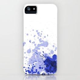 Passion Blue iPhone Case