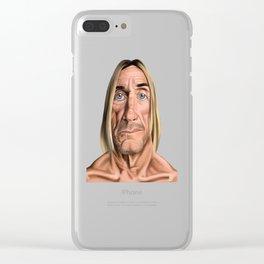 Celebrity Sunday ~ Iggy Pop Clear iPhone Case
