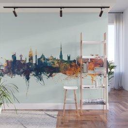 Newcastle England Skyline Wall Mural