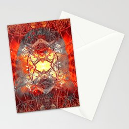 Spontaneous human combustion Stationery Cards