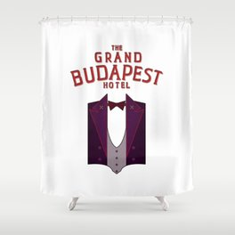 M. Gustave Shower Curtain