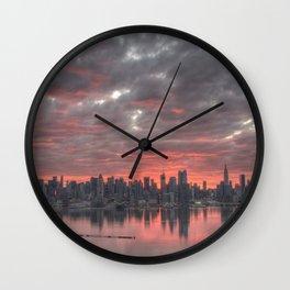City Reborn Wall Clock