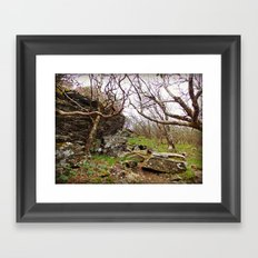 Room To Breathe Framed Art Print