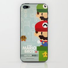 mario bros 2 fan art iPhone & iPod Skin