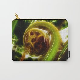 The Unfurled Fern Carry-All Pouch