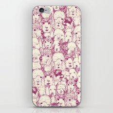 just alpacas cherry pearl iPhone & iPod Skin