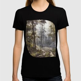 Wet Morning in the Forest T-shirt