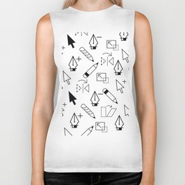 Illustrator Tools Biker Tank