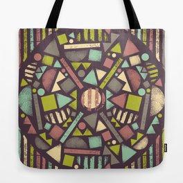 Wheel of life Tote Bag