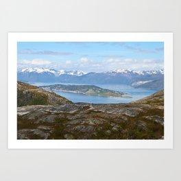 Kvaenangsfjord, Norway 3 Art Print