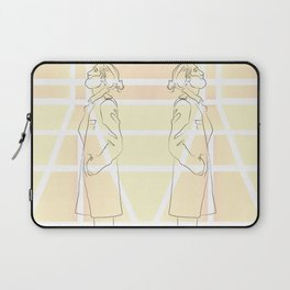 Yellow Thoughts Laptop Sleeve
