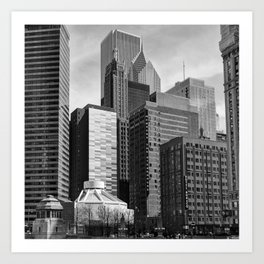 Chicago Stack Art Print
