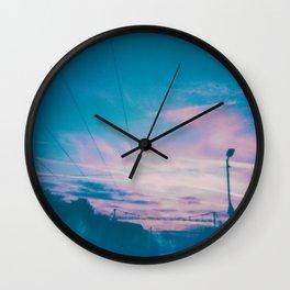 noughts and crosses Wall Clock