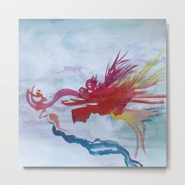 Year of the Dragon Metal Print