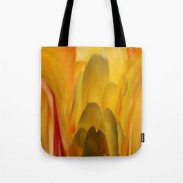 Yellow Haze Tote Bag