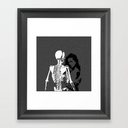 Love You to Death Framed Art Print