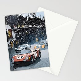 Le Mans 1964 Start Stationery Cards
