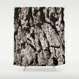 TEXTURES: Englemann Oak Bark Shower Curtain