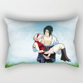 in the middle of the meadow Rectangular Pillow