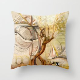 Axis Mundi V Throw Pillow