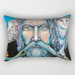 KEEPER OF THE WOOD Rectangular Pillow